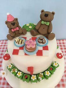 Teddy Bear Cake Toppers | eBay