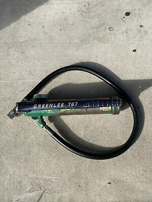 Greenlee 767 Hydraulic Hand Pump - Tested Works Bin 2