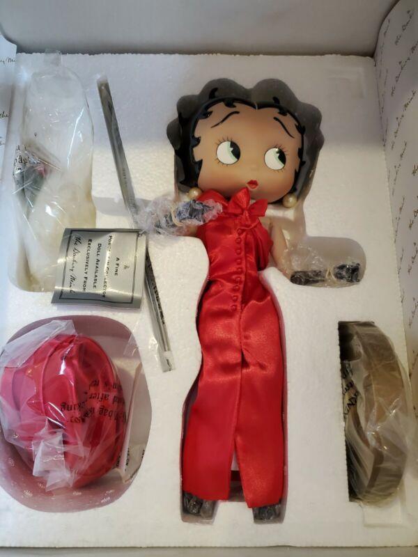 Danbury mint betty boop As Unforgettable porcelain dolls