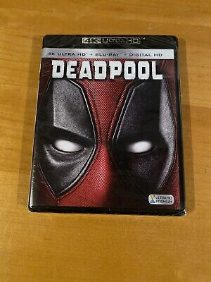 DEADPOOL (4K Ultra HD / Blu-ray / Digital) Ryan Reynolds NEW