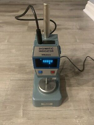 Mitutoyo Digimatic 543-423-1 Digital Indicator 0.0001 7004 Stand See Desc