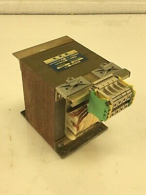 C.T.S. Don Minzoni, 0.8 KVA (800VA) Transformer, 1 Phase, Used, WARRANTY