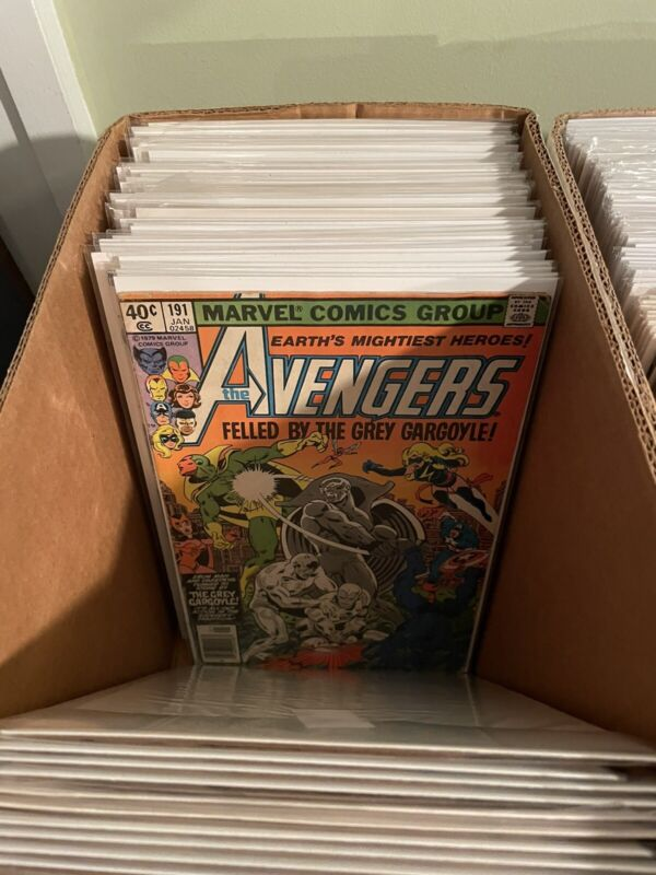 Lot of (15) DIFFERENT ALL AVENGERS Comic Books