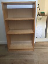 Beech veneer small shelving cabinet  106x60cmx28cm. good condition. Caringbah Sutherland Area Preview