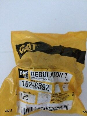 New Old Stock Caterpillar 102-8392 Water Temp Regulator Thermostat Surplus