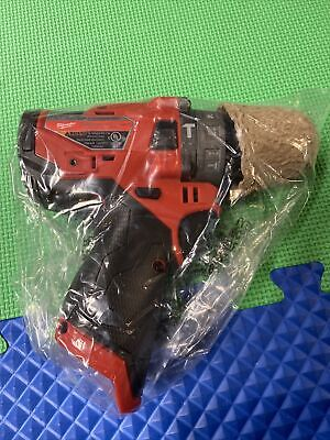 New Milwaukee M12 Fuel Brushless Cordless 12 In. Hammer Drill 2504-20