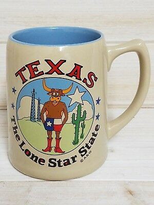 A&W Root Beer Float Mug ~ Texas The Lone Star State ~ LARGE Coffee Mug Tea Cup