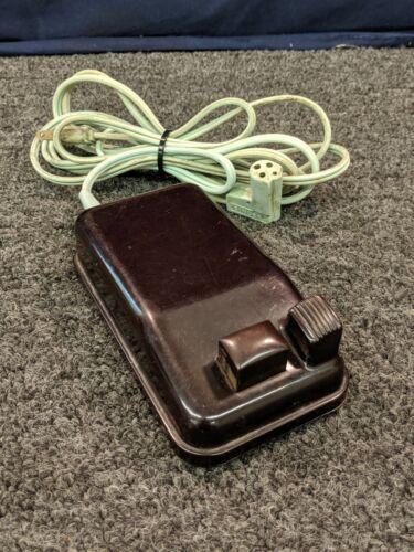 Singer Sewing Machine Motor Controller Foot Pedal 196131-04 Canada Craft Art