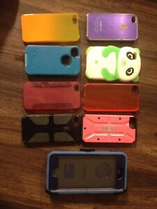 Lots of phone cases