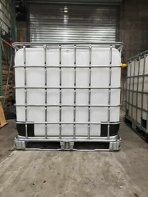 275 Gallon Ibc Motor Oil Tote With Metal Pallet Cage Used