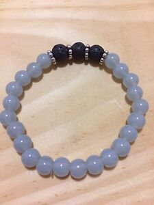 Aromatherapy Essential Oil Bracelets with Lava rock London Ontario image 6