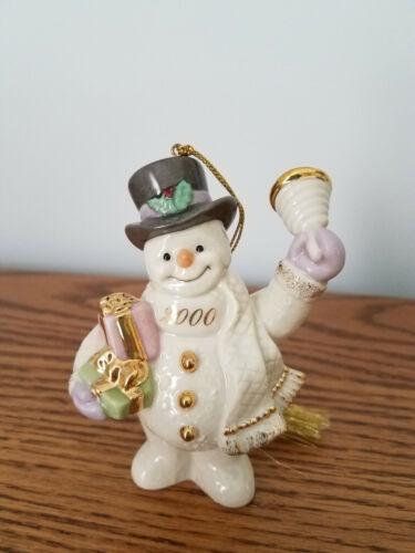 Lenox Snowman ornament from 2000