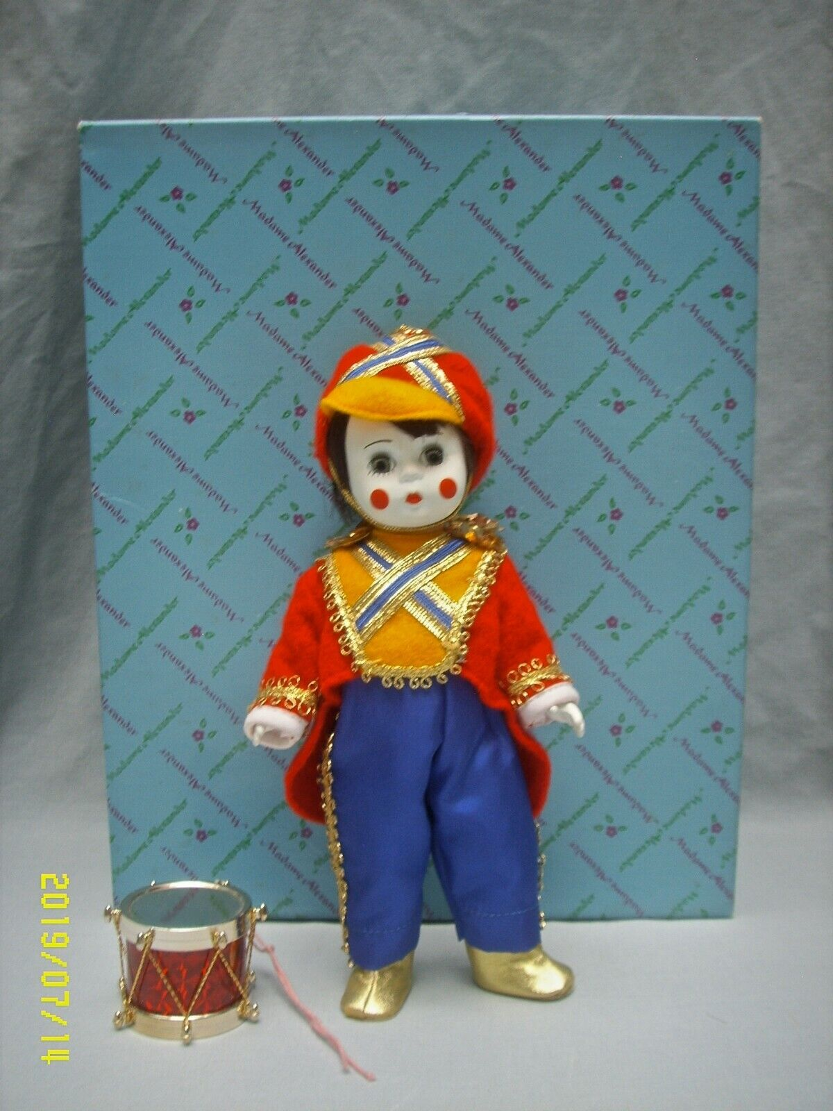 """Madame Alexander Doll 8/"""" Toy Soldier 481 with Tags /& Original Box"""