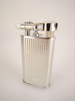 Peterson of Dublin Pfeifenfeuerzeug Pipe Lighter Silver Stripe Made in Japan