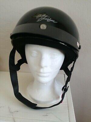 Harley Davidson Helmet Size M Womens Motorcycle Helmet DOT Skid Lid Half 1/2