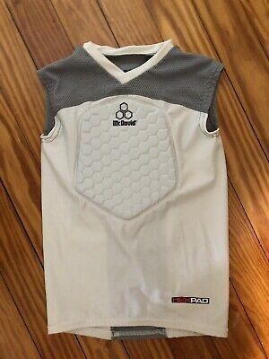 McDavid Classic Logo 7910 Y CL 3 Pad Body Shirt-Grey Youth Medium