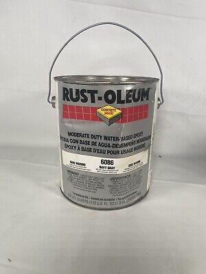Rust-oleum 6086 Epoxy Finish Kit Navy Gray High Gloss 1 Gal