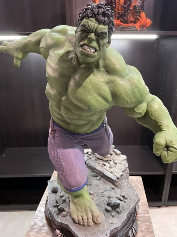Hulk Avengers Age Of Ultron Maquette Statue #01/750 Sideshow **EDITION #1** MINT