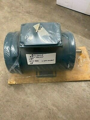 Reliance P56h4864n 1hp 1140rmp 208230460 3phase New Free Shipping