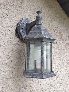 Exterior Wall Lights. Set of 3