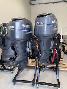 Twin 225 Yamaha Fourstroke Package