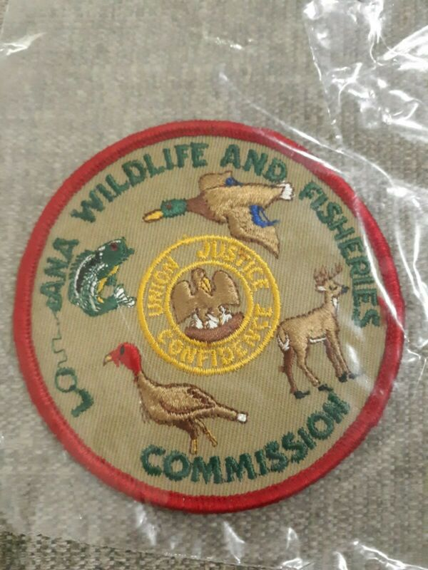 "LA Louisiana Wildlife and Fisheries Commission 3.75"" Patch Error"