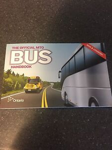 The official MTO Bus Handbook  Kitchener / Waterloo Kitchener Area image 1