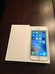 Silver iphone 6 16g factory unlocked 360$ FIRM