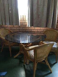 7 pce dining tablechairsDining TablesGumtree Australia