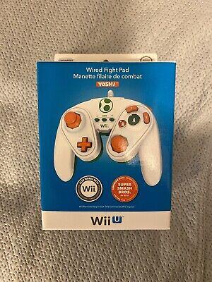 Wii U Nintendo Wired Fight Pad - Yoshi - MISB