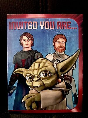 Star Wars™ HALLMARK The Jedi Order (Cartoon Series) HIGH COUNCIL Invitation Card - Star Wars Invitation