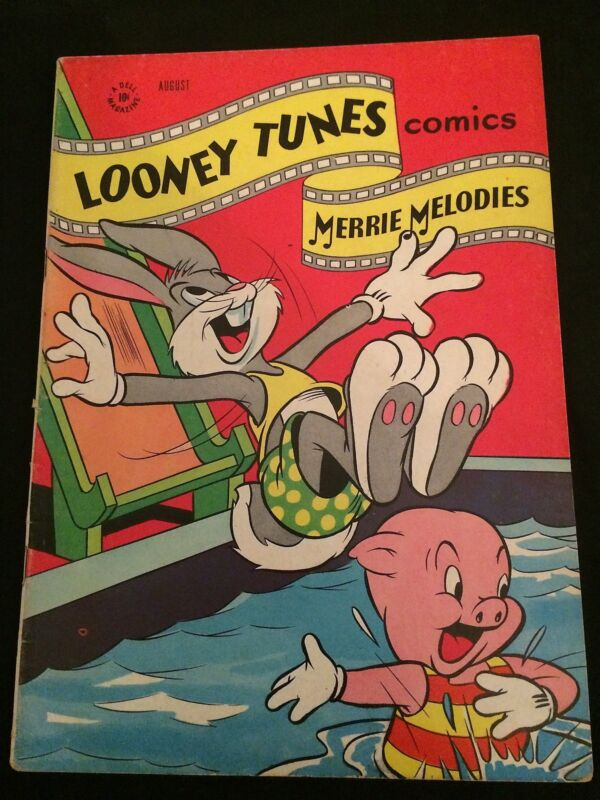 LOONEY TUNES #58 VG+ Condition