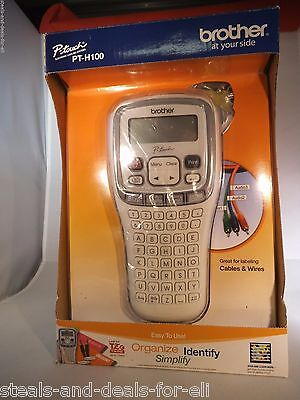 NEW IN BOX BROTHER PT-H100 LABEL MAKER P-TOUCH ELECTRONIC TZ