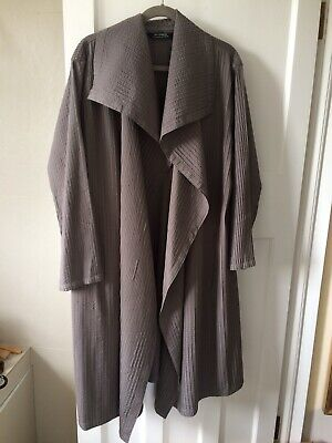YACCO MARICARD Gorgeous Taupe/grey Coat, Size 5, Great Condition for sale  Shipping to Ireland