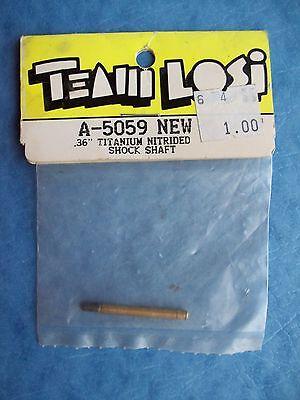 """VINTAGE TEAM LOSI 5059 .36"""" TITANIUM NITRIDE SHOCK SHAFT LOSA5059 A-5059 NIP"""