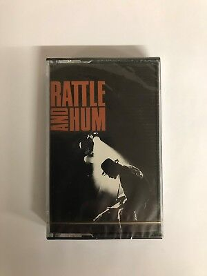 U2 RATTLE AND HUM CASSETTE (BRAND NEW / SEALED) - UC27