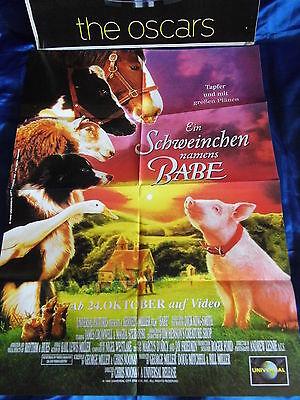 ns BABE -  -Kinder-Poster A1(59x84 Film-Plakat F1a (Name Plakat)