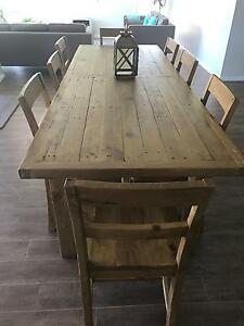 Vintage 1825Dining Table with 8 Chairs Cobbitty Camden Area Preview