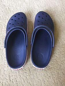 Men's Navy Blue Crocs