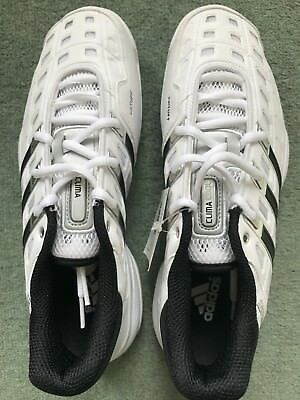 BNWT ADIDAS WOMENS CC FEATHER IV TENNIS GRASS COURT SHOES White UK Size 7