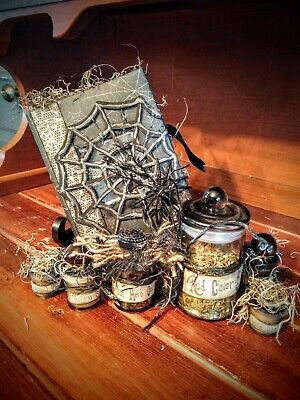 Spell Books Potions Halloween Apothecary Witch Haunting Spells Decor Herbs](Halloween Witch Spell Books)