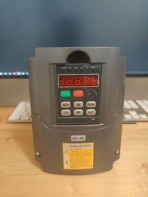 Vfd 220v 2.2kw 3hp Variable Frequency Drive Cnc Vfd Motor Drive Inverter Conv...