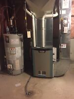 Ducting, Venting, Relocation, HVAC services, Heating, Tankless