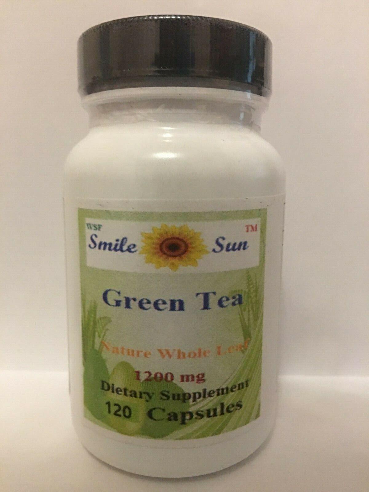 super Green Tea powder capsule, weight loss, improve brain,1