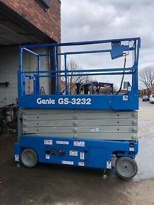 2016 Genie Gs-3232 Electric Scissor Lift Fully Refurbished Excellent