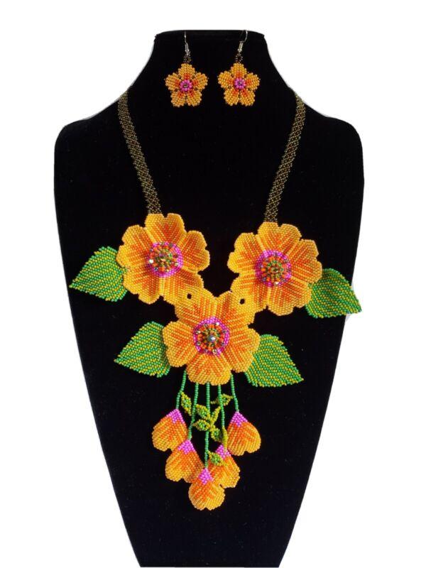 huichol beads,2 pcs mexican women