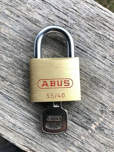 ABUS 55/40 Padlock - free `shipping