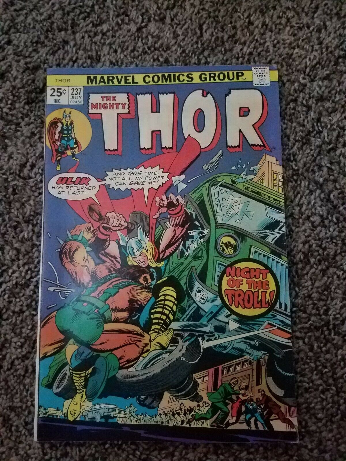 The Mighty Thor 237 Bronze Age - $0.99