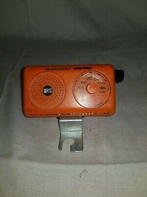 Vintage orange ARCHER ROAD PATROL AM BICYCLE RADIO TESTED 1970s