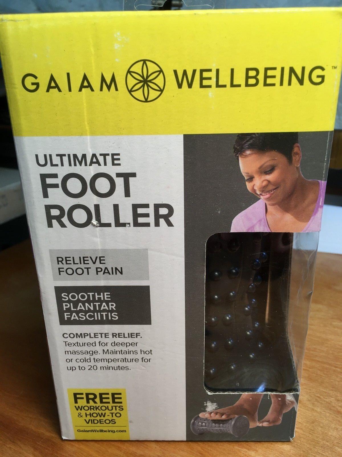 wellbeing ultimate foot roller elimate foot pain